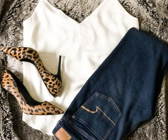 leopard shoes camisole leggings