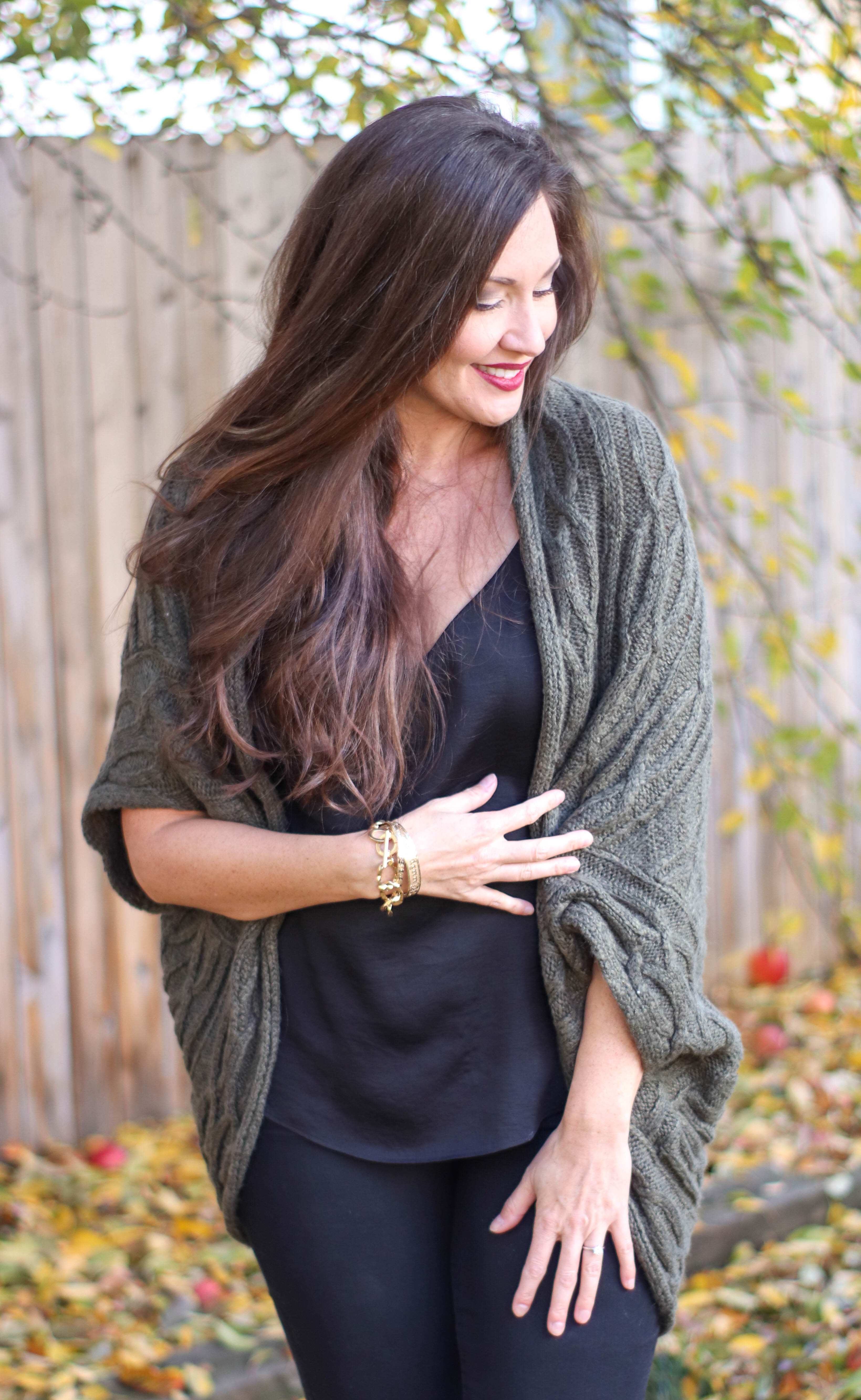 cocoon cardigan green sweater olive cardigan