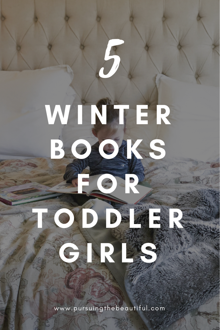 winter books toddler girl